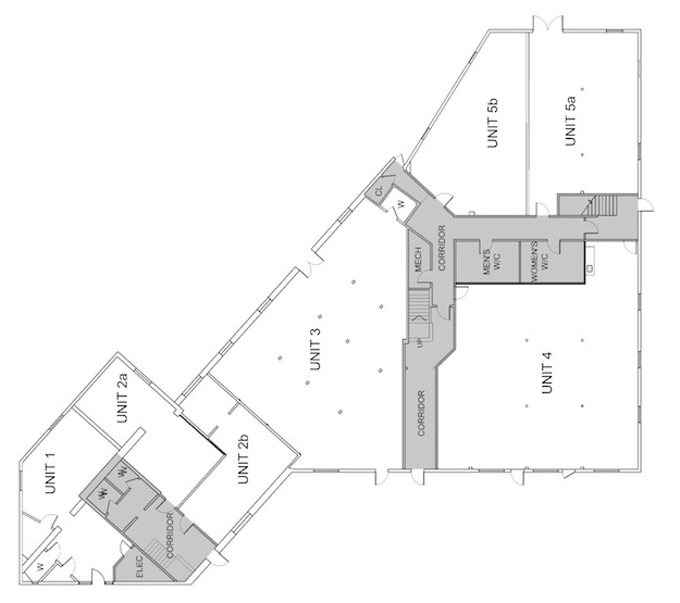 horizontal house plans - 28 images - one story bungalow floor plans ...